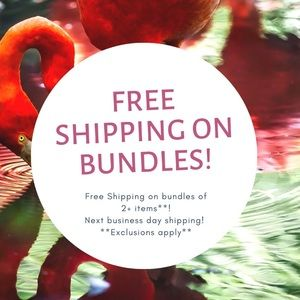 Free Shipping all bundle 2 Plus items